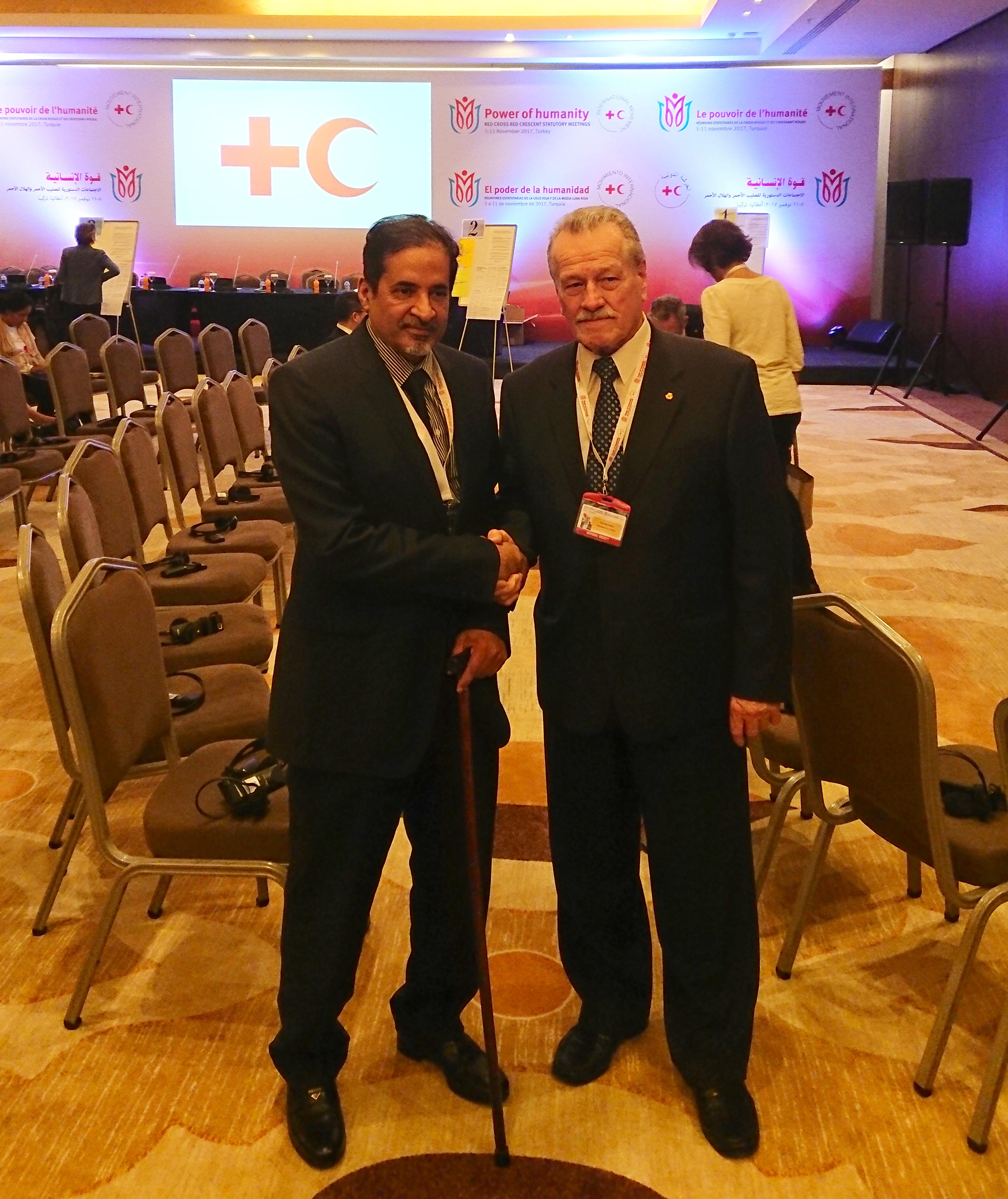 З Президентом Катарського ЧП