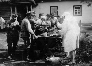 1928. RC nurses supporting big military maneuveres