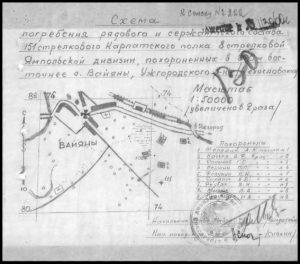 Схема поховання_1945